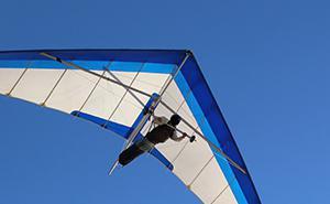 自由飞行、滑翔机