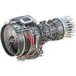 商务飞机涡轮喷气发动机 / 通用航空 / 轴流压气机