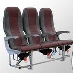 机舱座椅 / 用于经济舱 / 布料 / 皮质