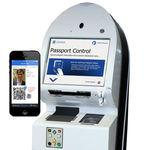 机场自助边检通道 / 带指纹读取器 / 带护照读取器