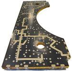 铝表面夹芯板 / 铝制蜂窝内芯 / 用于航空航天业