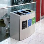 机场垃圾桶 / 落地式 / 垃圾分类
