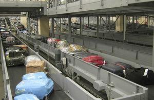 自动化缓冲区存储系统 / 行李 / 机场