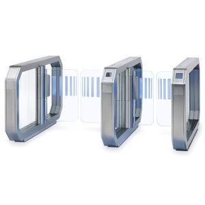 带生物特征读取器自助登机门 / 带RFID读取器 / 带读卡器 / 机场