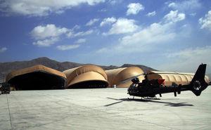 直升机机库