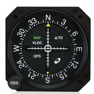 模拟航向偏差指示器