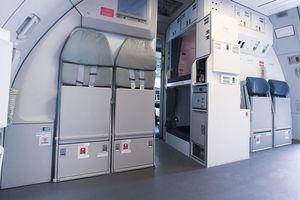 客机机组休息区