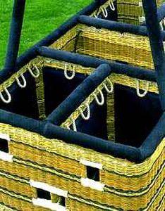 分隔热气球吊篮