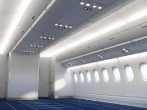飞机行李架