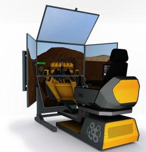 应急处理车模拟器 / 跑道设备 / 训练 / 用于研究开发