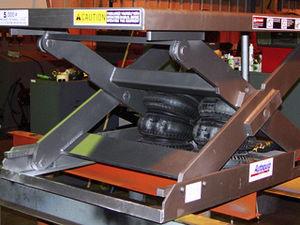 折叠式升降推车