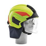 消防头盔 / 整体式 / 带挡风镜 / 防护
