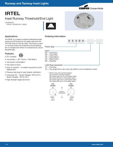 IRTEL Inset Runway Threshold/End Light