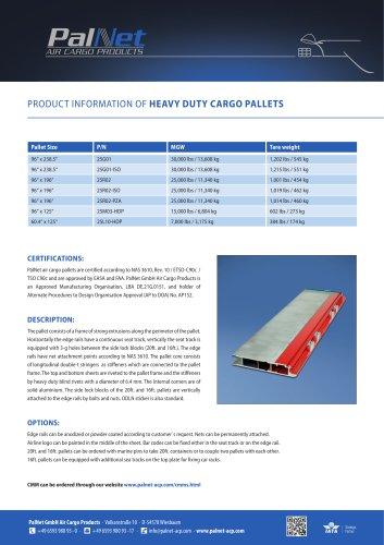 Heavy Duty Pallets