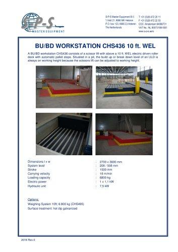 BU/BD WORKSTATION CHS436 10 ft. WEL