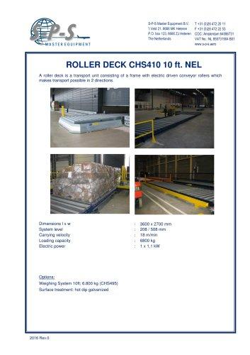 ROLLER DECK CHS410 10 FT. NEL