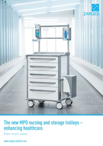 The new MPO nursing and storage trolleys – enhancing healthcare