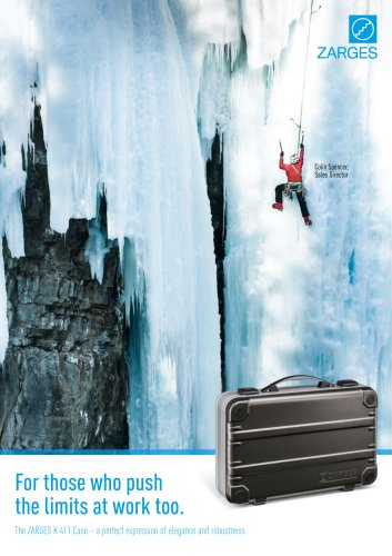 The ZARGES K 411 Case – a perfect expression of elegance and robustness