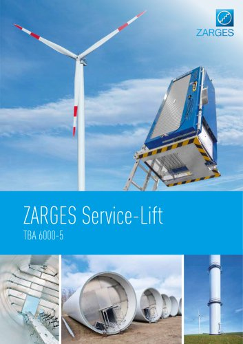 ZARGES Service Lift TBA 6000 5