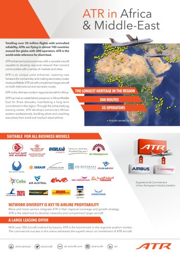 ATR in Africa & Middle-East