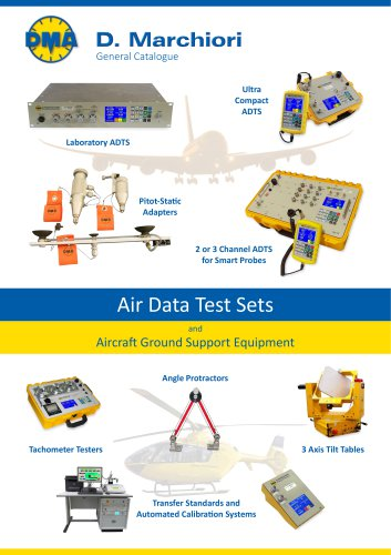 Air Data Test Sets and Aircraft Ground Support Equipment catalogue