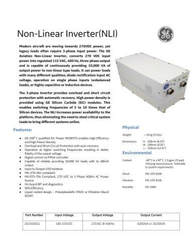 Non-Linear Inverter(NLI)