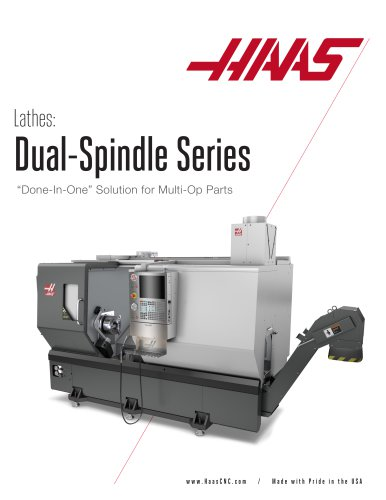 Lathes Dual-Spindle Series