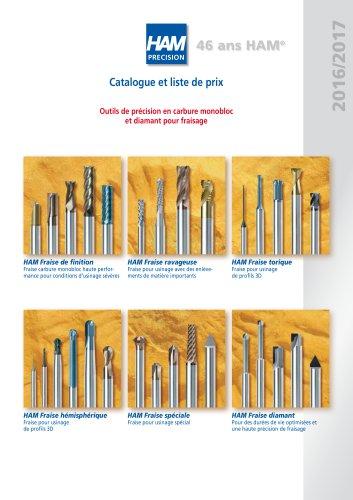 Catalogue Fraises