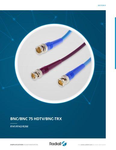 BNC/BNC 75 HDTV/BNC-TRX