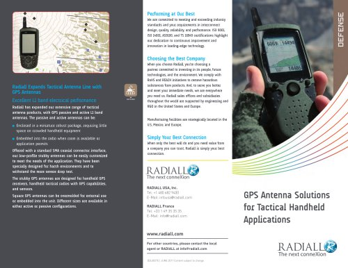 GPS Antenna Solutions