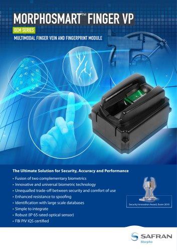 Multimodal Finger Vein and Fingerprint Module