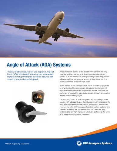 Angle of Attack (AOA) Systems