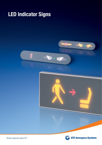 LED Indicator Signs
