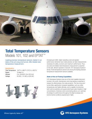 Total Temperature Sensors Models 101, 102 and EPTAT™