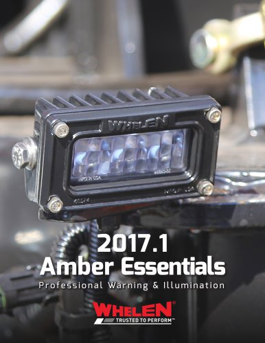 Amber Essentials Catalog