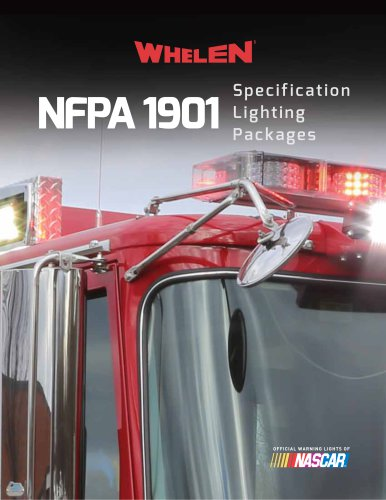 NFPA 1901 Lighting Specification Catalog