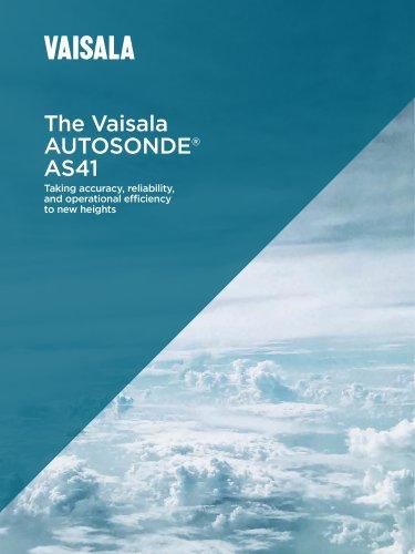 The Vaisala AUTOSONDE® AS41
