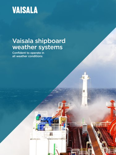 Vaisala shipboard weather systems