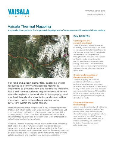 Vaisala Thermal Mapping
