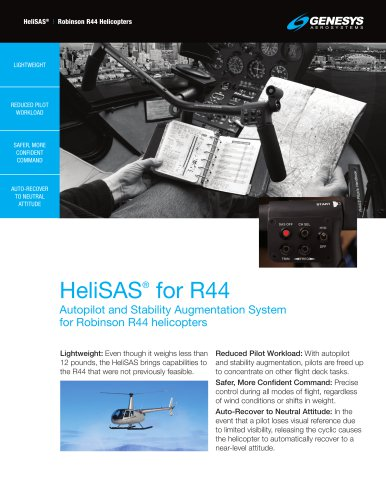 HeliSAS for R44