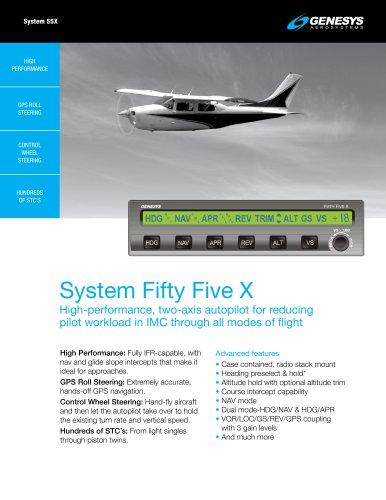 System 55X Autopilot