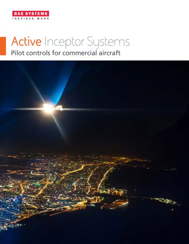 Active inceptor systems