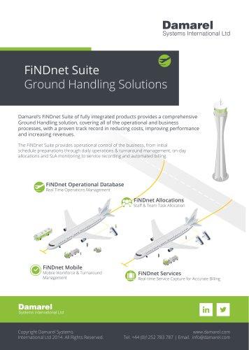 FiNDnet Suite Ground Handling Solutions