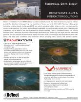 Data Sheet - HARRIER DSR & DroneWatcher Systems