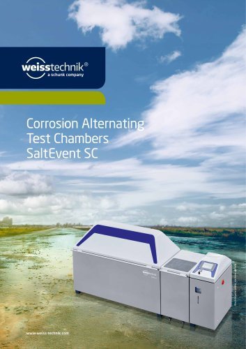 Corrosion Alternating Test Chambers SaltEvent SC