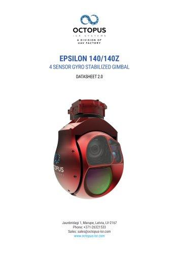 EPSILON 140/140z (DUAL SENSOR, HIGH PERFORMANCE GYRO STABILIZD GIMBAL)