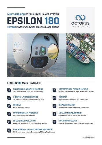 EPSILON 180 (MULTI-MISSION EO/IR SURVEILLANCE SYSTEM)