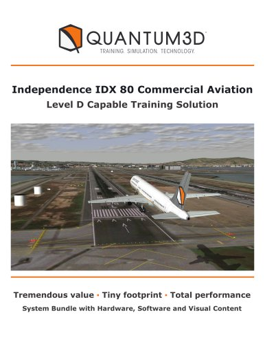 Independence IDX 80 Commercial Aviation