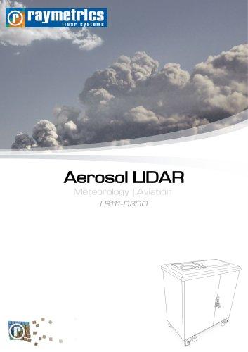 Aerosol LIDAR