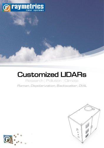 customized LIDARs